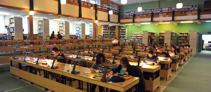 Zdjęcie nagłówkowe otwierające podstronę: Biblioteka Główna i biblioteki specjalistyczne Uniwersytetu Opolskiego