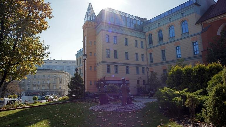 Budynek Uniwersytetu Opolskiego