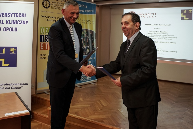 Przeniesienie do informacji o tytule: University of Opole Expanding Cooperation with University Hospital