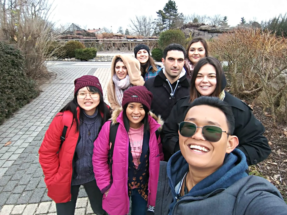 Our international students visit Opole Zoo